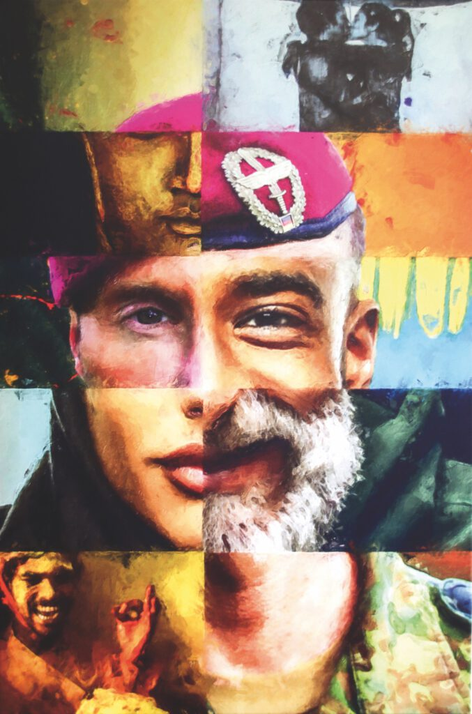 3. Preis. Stefan Siegel. Open Mind. Digitale Collage. 60 x 90 cm