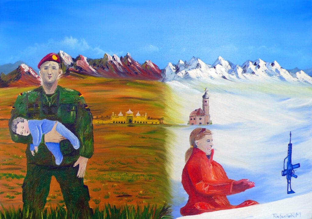 4. Preis: Rafael Miczka | ALWAYS ON MY MIND | Malerei
