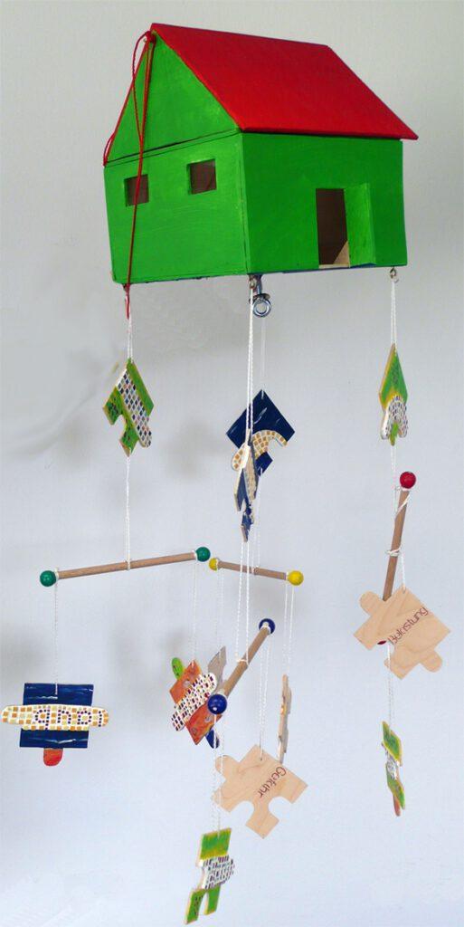 5. Preis: Werner und Anna Vogl | Der steinige Weg | Objekt. 42 x 32 x 24 cm