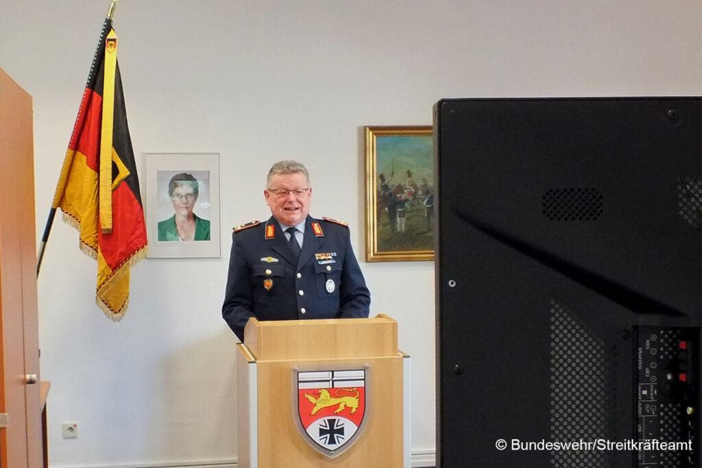 SKA-Amtschef Generalmajor Franz Weidhüner. Copyright: Bundeswehr/Streitkräfteamt