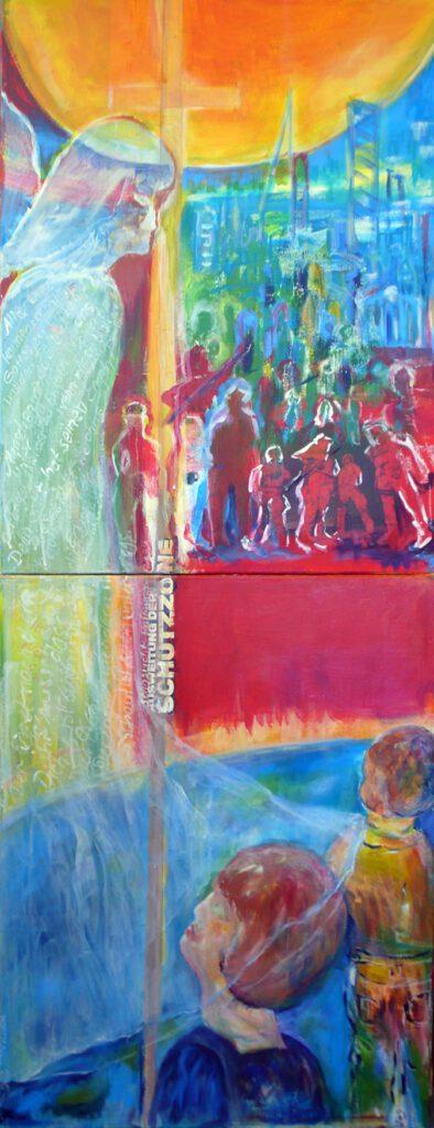 Sonderpreis: Erika Hoffmann | SCHUTZZONE | Malerei